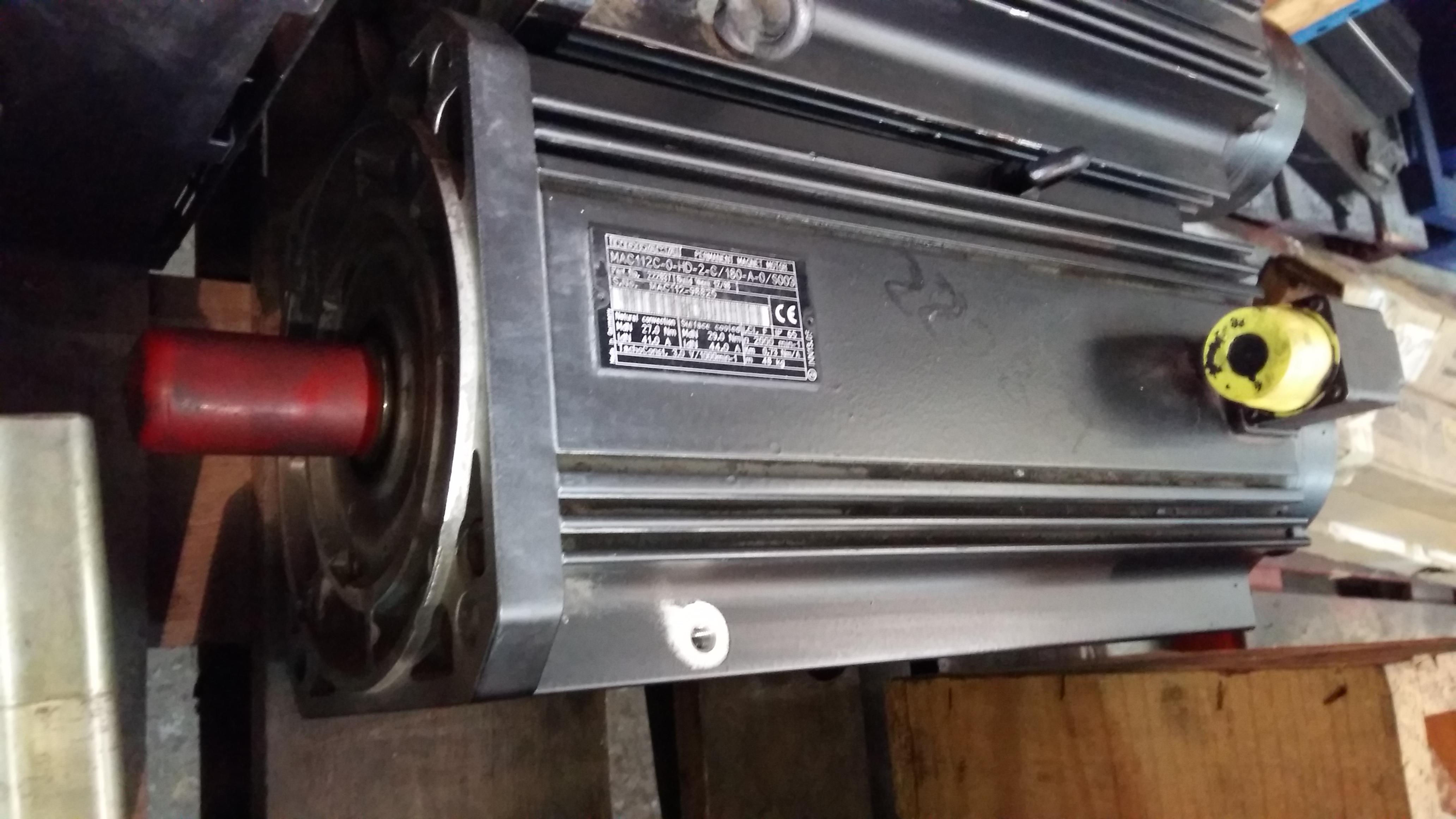 Indramat Permanent Magnet Motor Mac112c Motorlan