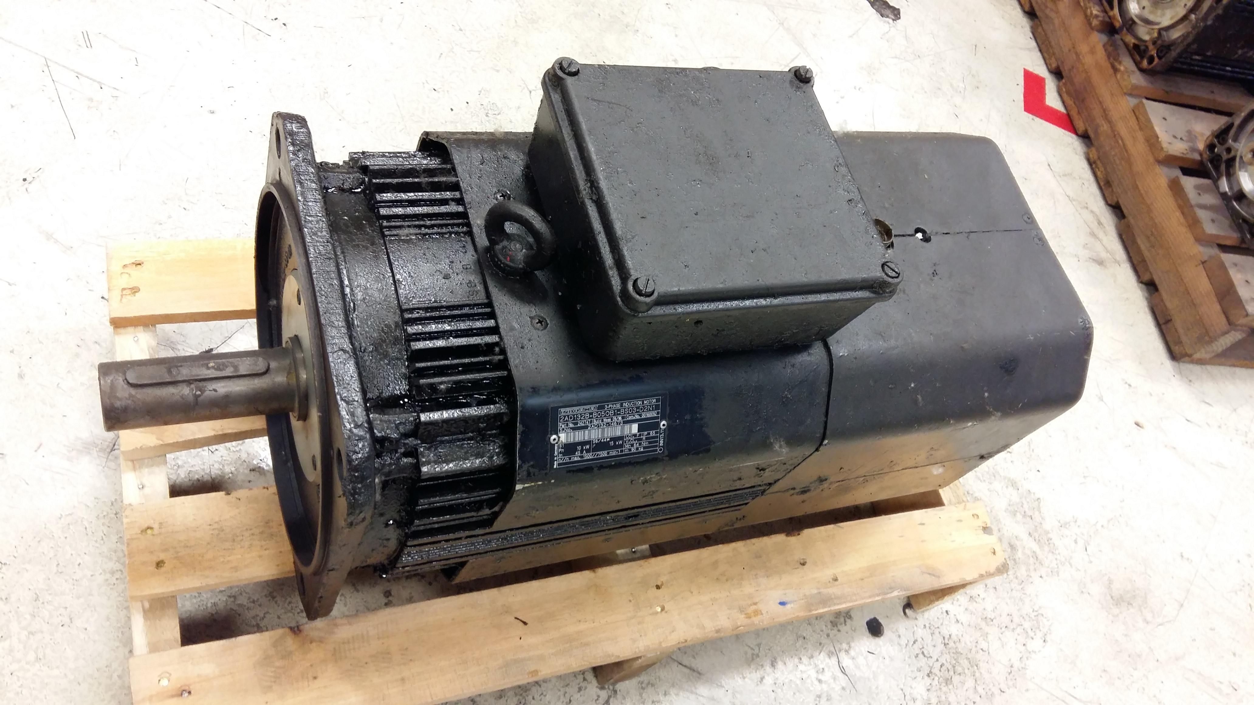 Indramat Motor 2ad132b Motorlan