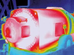 Termografía motores eléctricos